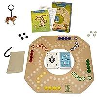 Original-Brndi-Dog-fr-2-4-Spieler-Brettspiel-aus-Holz-Neu-Brandi-Dog-by-Unbekannt