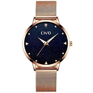 Damen-Uhr-Frauen-Mdchen-Wasserdichte-Luxus-Edelstahl-Mesh-Armbanduhr-Klassisch-Sport-Designer-Mode-Leuchtende-Analoge-Uhren