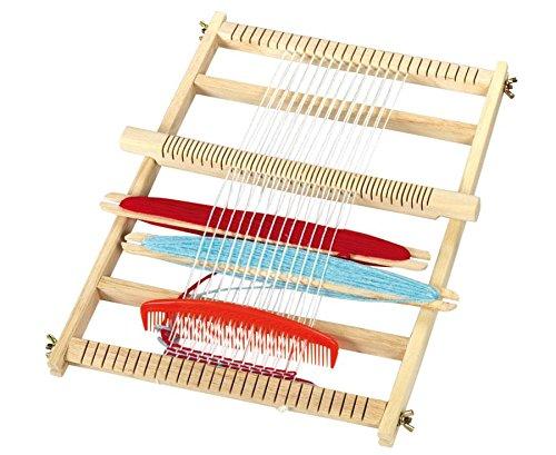 Betzold-50998-Groer-Webrahmen-Weben-im-Kindergarten-Oder-Kunstunterricht-Viel-Zubehr-30×40-cm