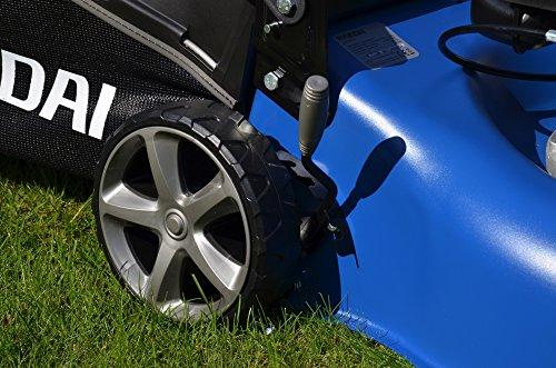 HYUNDAI-Benzin-Rasenmher-LM4201G-Schnittbreite-42cm-kraftvoller-HYUNDAI-Motor-mit-26kW-35PS-45L-Fangkorb-Mulchfunktion-Benzinmher
