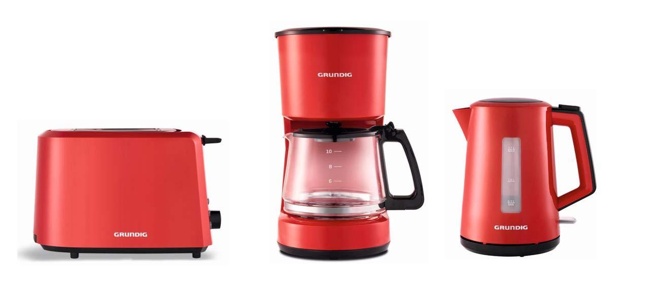 Grundig-TA-4620-R-Toaster-Rot-850-W-7-Brununggradeinstellung