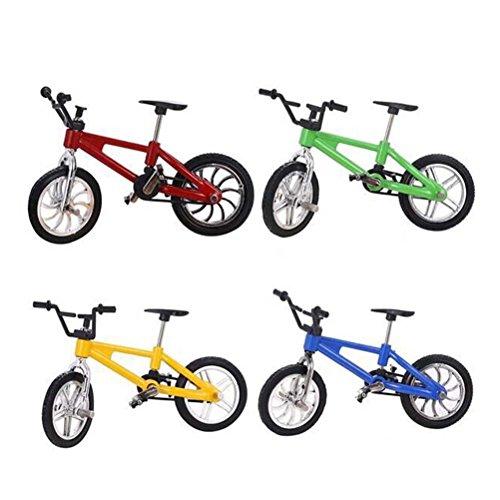 TOYMYTOY-Finger-Mountain-Bike-118-Mountainbike-Modell-Spielzeug-4-Stcke-Fahrrad-Spielzeug-fr-Kinder