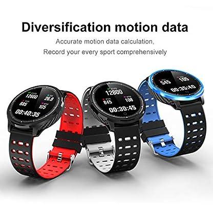 Hukz-Smart-Sport-wasserdichte-UhrSmart-Watch-Sport-Fitness-Schlaf-Herzfrequenz-Tracker-Blutdruck-Uhr-IP67