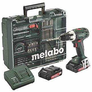 Metabo-602102600-BS-18-LT-Set-Akku-Bohrschrauber-18V-20Ah-Mobile-Werkstatt-18-V-Schwarz-Grn