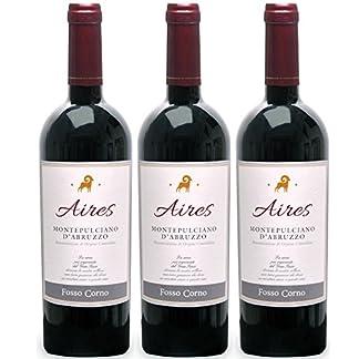 Aires-Fosso-Corno-rot-trocken-13-vol-3er-Paket