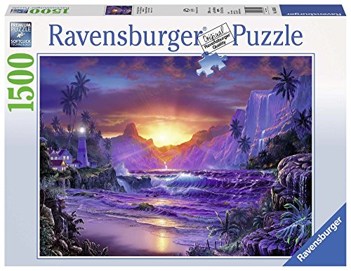 Ravensburger-16359-Sonnenaufgang-im-Paradies-1500-Teile-Puzzle