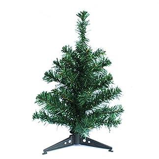 Kentop-Knstlicher-Weihnachtsbaum-Kunstbaum-mit-Stnder-Grn-aus-PVC-30-cm