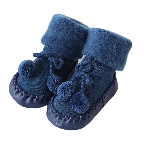 Unisex-Baby-Socken-Httenschuh-Baby-schnen-Herbst-Winter-warme-Weiche-Sohle-Schneeschuhe-Weiche-Krippe-Schuhkleinkind-Stiefel-0-24-Monat-auf