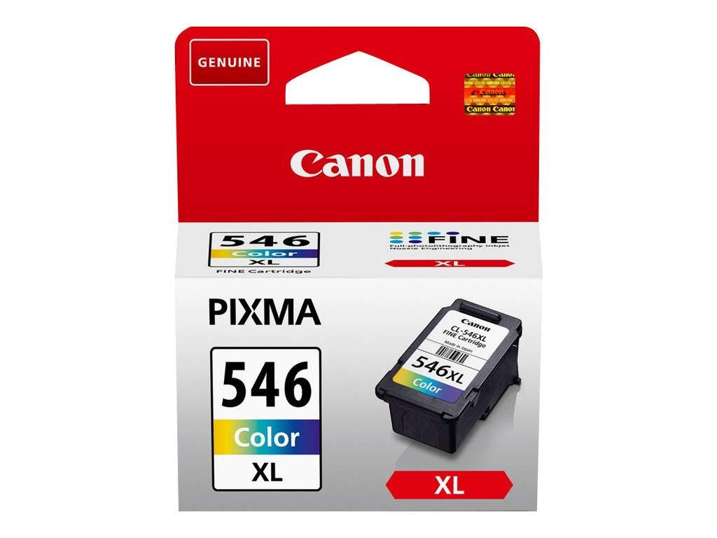 Canon-CL-546XL-original-Tintenpatrone-Mehrfarbig-XL-fr-Pixma-Inkjet-Drucker-TS3150-TS3151-MX495-MG2450-MG2550-MG2550S-MG2555S-MG2950-MG3050-MG3051-MG3052-MG3053-IP2850