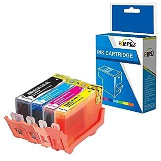 Fimpex-Kompatibel-Tinte-Patrone-Ersatz-fr-HP-Deskjet-3070A-3520-Photosmart-5510-5510-5512-5514-5515-5520-5522-5524-5525-6510-6520-6525-7510-7520-B010a-B109a-B109c-B109d-364XL-BKCMY-4-Pack
