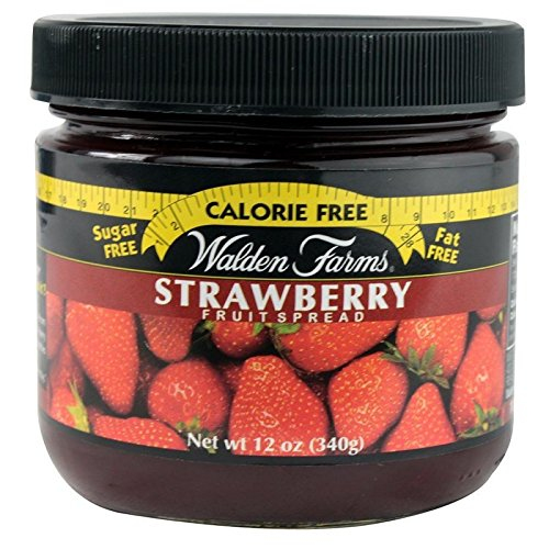Walden Farms Jam & Jelly Fruit Spreads Strawberry 6 Stück