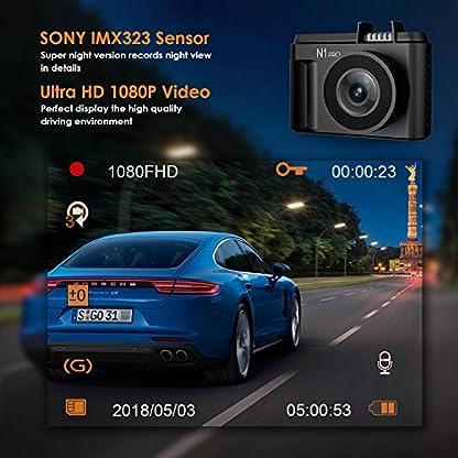 VANTRUE-N2-Pro-Dual-Dashcam-Infrarot-Nachtsicht-Autokamera-Vorne-Hinten-Dual-Full-HD-1080P-Dash-Cam