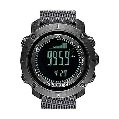 feiledi-Trade-Multifunktionale-Smartwatch-Herren-Armbanduhr-Schwarz-North-Edge-Sport-Digitaluhr-Stunden-Outdoor-Sports-Laufen-Schwimmen-Militr-Armee-Hhenmesser-Barometer-Kompass-wasserdicht-50m