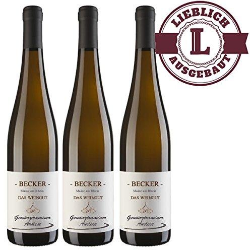 Weiwein-Weingut-Marco-W-Becker-Rheinhessen-Gewrztraminer-Auslese-2017-lieblich-3-x-075-l