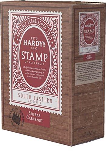 3-x-HARDYS-STAMP-SHIRAZ-CABERNET-SAUVIGNON-3L-Bag-in-Box-Incl-Goodie-von-Flensburger-Handel