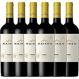 6er-Weinpaket-Rotwein-Malbec-2018-Kaiken-mit-VINELLOweinausgieer-trockener-Rotwein-argentinischer-Rotwein-aus-Mendoza-6-x-075-Liter