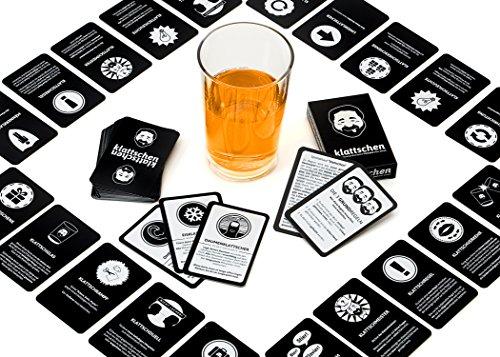DENKRIESEN-klattschen-Trinkspiel-offizielles-Geschenkset-zum-Kult-Trinkspiel-Partyspiel-Geschenkidee-fr-Erwachsene-Saufspiel-Junggesellenabschied