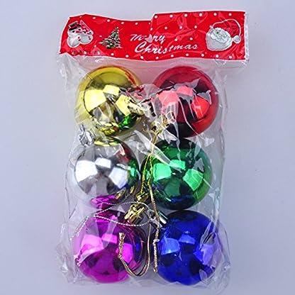 Cosanter-6-stck-Weihnachtskugeln-Glnzend-Deko-Anhnger-Kugel-Weihnachtsbaumschmuck-Baumkugeln