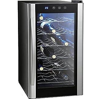 18-Flaschen-Weinkhlschrank-FCKW-frei-Getrnkekhlschrank-Temperaturbereiche-ca-11-bis-18-C-blaue-LED-Innenbeleuchtung
