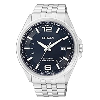Citizen-Herren-Analog-Quarz-Uhr-mit-Edelstahl-Armband-CB0010-88L