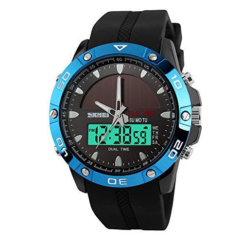 Art-und-Weise-groe-blaues-Gesicht-Herren-militrische-wasserdichte-Analog-Digital-Sport-Uhren-fr-Mnner-beobachten