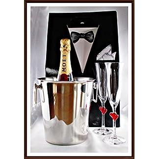 Champagner-Moet-Chandon-Brut-Imprial-mit-2-Champagner-Glser-von-Stlzle-1-Flaschenkhler-in-stabiler-Smoking-Tragetasche-kostenloser-Versand