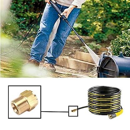 Generic-M22-Messing-Hochdruckreiniger-Adapter-mnnlich-auf-weiblich-Auslass-Schlauchanschluss