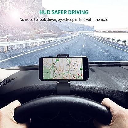 UGREEN-Auto-Handyhalterung-Armaturenbrett-Handy-Autohalterung-KFZ-Handyhalter-Auto-Halterung-Kratzschutz-kompatibel-mit-iPhone-X-XS-8Plus-8-Samsung-S10-S9-S8-Plus-Huawei-P20-P10-Navi
