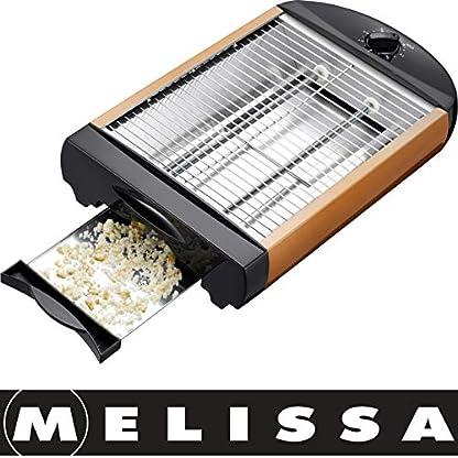 Melissa-16140112-FlachtoasterFlach-Toaster-TischrsterTisch-Rster-Edelstahl-DesignBrtchenBaquette