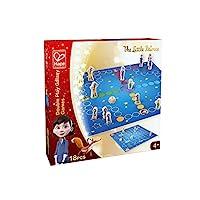 Hape-E748175-The-Little-Prince-E748175-2-in-1-Galaxy-Spiel-Sammlung-bunt