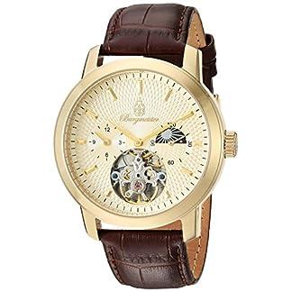 Burgmeister-Armbanduhr-fr-Herren-mit-Analog-Anzeige-Automatik-Uhr-und-Lederarmband-Wasserdichte-Herrenuhr-mit-zeitlosem-schickem-Design-klassische-Uhr-fr-Mnner-BM225-275-Brighton