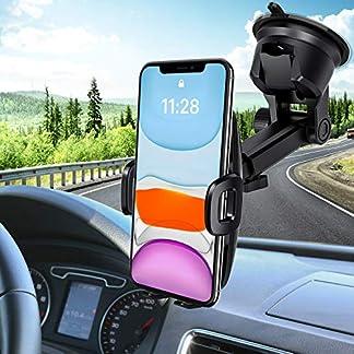 Mpow-Handyhalterung-Auto-Handyhalter-frs-Auto-KFZ-Smartphone-Halterung-Auto-Handyhalterung-Kfz-Handy-Halterung-Amaturenbrett-Handyhalter-Handy-Halter-fr-Auto-fr-iPhone11XSGalaxy1098HTCGoogle