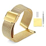 Binlun-Milanaise-Armband-4-Farben-Gold-Sliver-Schwarz-Rosgold-12-Gren-10-mm-12-mm-13-mm-14-mm-15-mm-16-mm-17-mm-18-mm-19-mm-20-mm-21-mm-22-mm