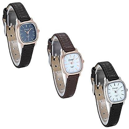 JewelryWe-Damen-Uhren-Leder-Band-Slim-Uhr-Frauen-Kleid-Mode-Wasserdichte-Klassisch-Zeitlos-Einfach-Design-Analog-Quarz-Armbanduhr-mit-Quadrat-Zifferblatt-3-Modellen