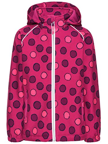 NAME IT Mädchen Jacke Nitalfa Softshell Jacket Fuch Dot Nmt