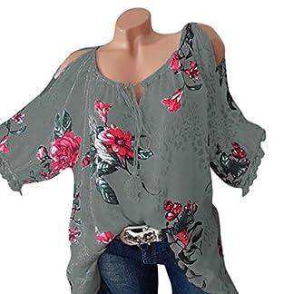 Bluse-Damen-Mode-Frauen-Herbst-bergre-O-Ausschnitt-Bandage-Trgerlosen-Tops-Blumendruck-T-Shirt-Oberteil-Damen-Lose-Langshirt-bergre-Tunika