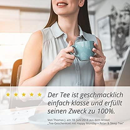 Happy-Monday-Bio-Energy-Tee-mit-viel-Koffein-Energie-die-gesunde-Alternative-zu-Kaffee-100-biologisch-mit-Mate-Guarana-100g-Made-in-Germany