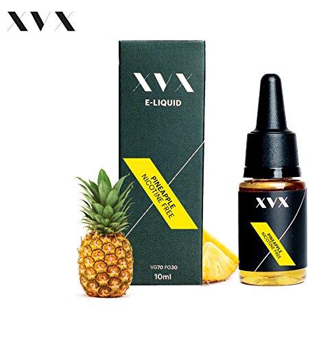 XVX E-Liquid  Ananas Geschmack  Elektronisches Liquid Für E-Zigarette  Elektronische Shisha Liquid  10ml Flasche  Nadelspitze  Präzise Befllung  Wähle Deinen Lifestyle  Neu Für 2016  Digitaler Rauch  Nikotinfrei  Tabakfrei