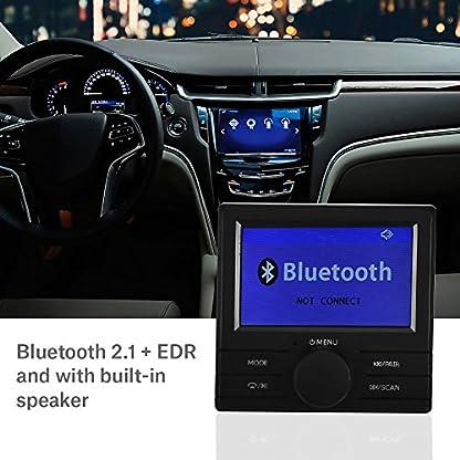 Richer-R-Auto-DAB-Digital-Radio-Adapter-Bluetooth-Digital-Radio-DAB-DAB-Audioempfnger-FM-Transmitter-Autoradio-mit-AntenneUntersttzung-TFT-DisplayRDSDLS-Schwarz