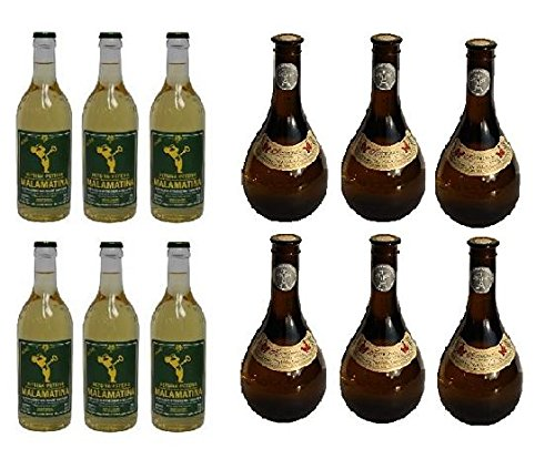 12x-500-ml-beliebter-Retsina-aus-Griechenland-Malamatina-Kechribari-im-Set-geharzter-Weiwein-115-Spar-Set-12-Flaschen-Wei-Wein-2-Probiersachets-a-10-ml-Olivenl-von-Kreta-gratis