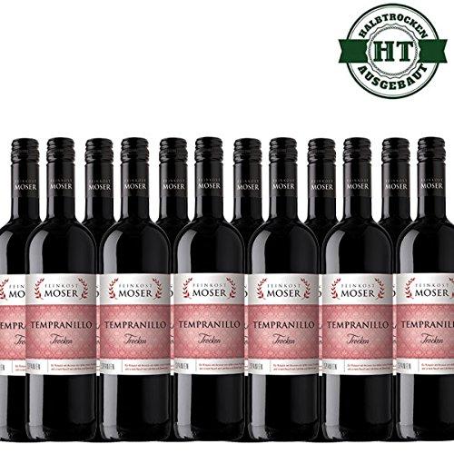 Rotwein-Feinkost-Moser-Tempranillo-trocken-12x075l-VERSANDKOSTENFREI