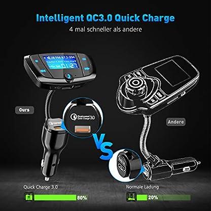 QC30-Bluetooth-FM-Transmitter-Auto-Kit-Freisprecheinrichtung-Radio-Adapter