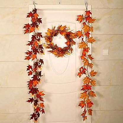 Politice-Maple-Leaf-Cane-Ornamente-Halloween-Home-Ornamente-Simulation-Maple-Leaf-Anhnger-Lnge-18-M-Kann-Als-Weihnachten-Thanksgiving-Halloween-Dekorationen-Verwendet-Werden