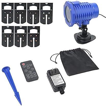 HalloweenWeihnachten-LED-Projektor-Lichter-Outdoor-Dekoration-Wasserdichte-Scheinwerfer-mit-Fernbedienung-fr-Urlaub-Party-und-Geburtstag