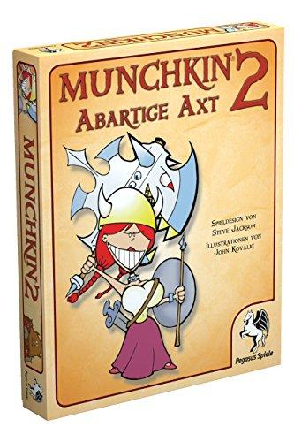 Pegasus-Spiele-17212G-Munchkin-2-Abartige-Axt