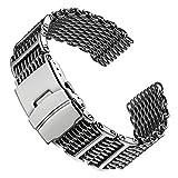 Hai-Maschen-DiveTaucher-H-Link-Uhrenarmband-von-Geckota-aus-Edelstahl-im-polierten-Finish-24mm
