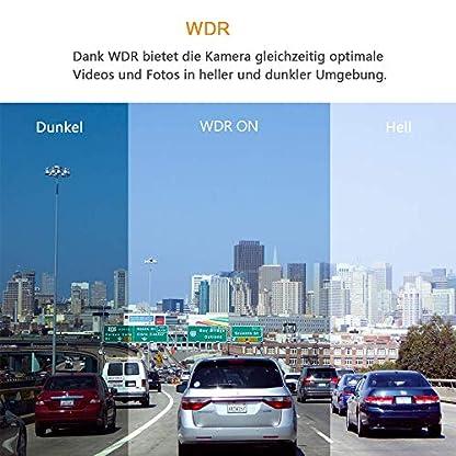 AWESAFE-Rckspiegel-Kamera-Dual-Autokamera-1080P-10-FHD-Touchscreen-170-Weitwinkel-mit-Nachtsicht-Parkmodus-BewegungserkennungLoop-Aufnahme-G-Sensor