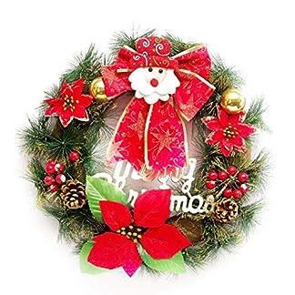 AIHOM-Weihnachten-Dekorative-Kranz-Handgemachte-Rattan-Hngende-Girlanden-Weihnachtsmann-Kranz-Anhnger-Fr-Haustr-Wohnzimmer-Hotel-Bar-Mall