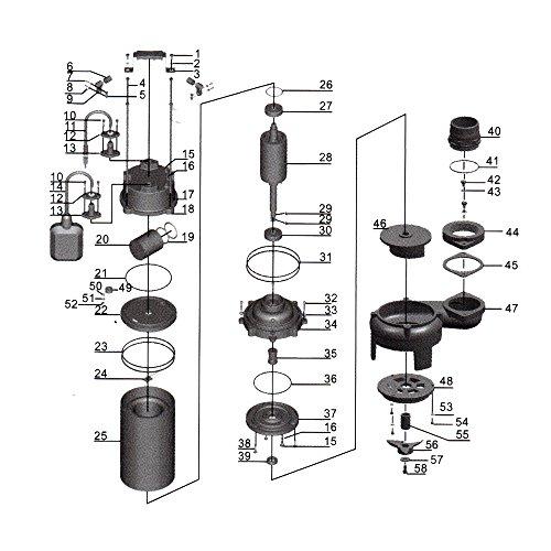 Schmutzwasserpumpe-Schwimmerschalter-Hcksler-31200-Lh-2200-W-Frderhhe-bis-10-m