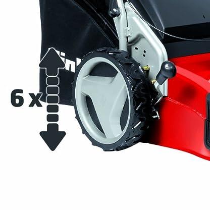 Einhell-GE-PM-51-VS-H-BS-4in1-Benzin-Rasenmher-24-kW-51cm-Schnittbreite-70l-Fangsack-6-fache-Schnitthhenverstellung-Vario-Speed